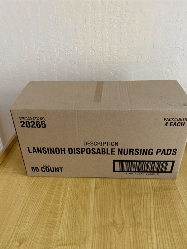 Lansinoh Stay Dry Disposable Nursing Pads, 240 Count  FAST SHIPPING