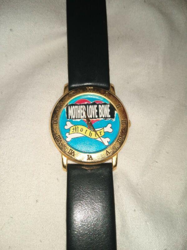 Mother Love Bone 1990 very rare watch rockabilia pearl jam soundgarden aic