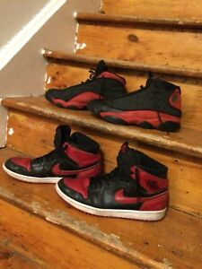 Banned red Jordan collection