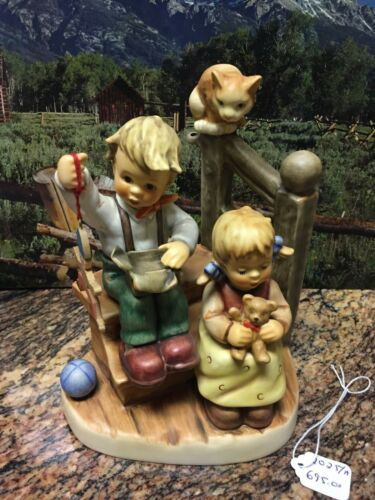 "GOEBEL HUMMEL:WISHES COME TRUE ""WONDER OF CHILDHOOD"" SERIES HUM #2025/A MINT!!"