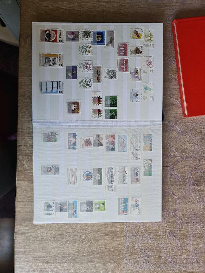 Briefmarken BRD Deutschland,  ca. 1983 -1994 in Bayern - Selb