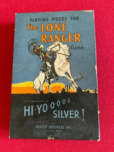 """1938, """"The LONE RANGER"""" (PARKER BROTHERS) BOARD GAME (Scarce / Vintage)"""