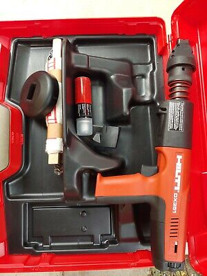 Hilti Dx 351 Powder Actuated Gun Tool W Case Mint Condition