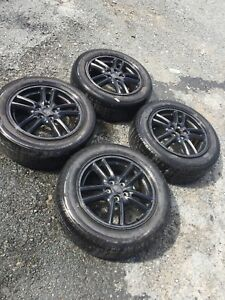 "16"" Subaru RS Alloy rims and tires"