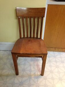 Antique Birch Barristers/Office Chair