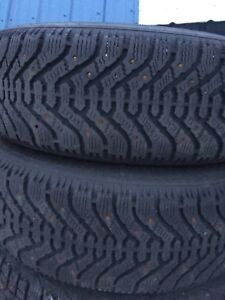 205/70R15 studded winters
