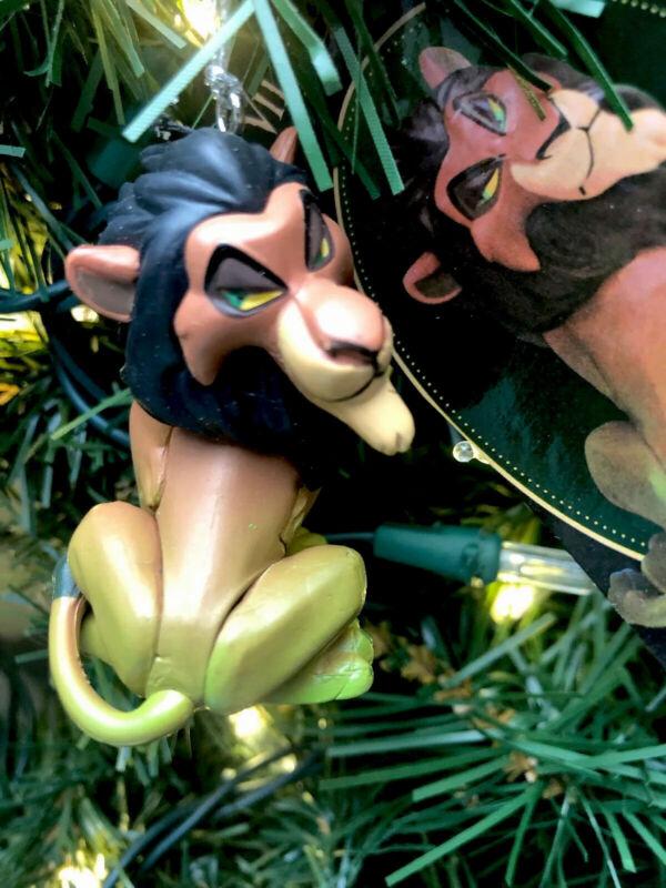 2021 New Disney Evil Scar Villain Christmas Tree Ornament The Lion King