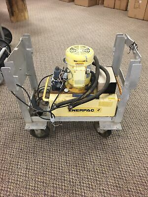 Enerpac Ped3005n Portable Hydraulic Pump Used