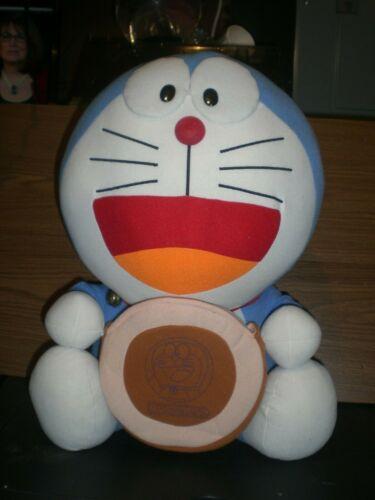 Large Doraemon Plush w/cookie