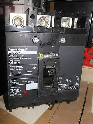 Square D Qbl32225 225amp 3p Panel Board Circuit Breaker New 1yr Warranty