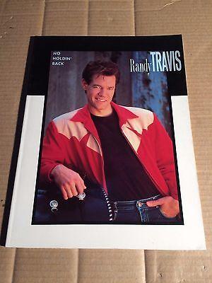 RANDY TRAVIS - NO HOLDIN' BACK - SONGBOOK - NOTEN - WARNER BROTHERS