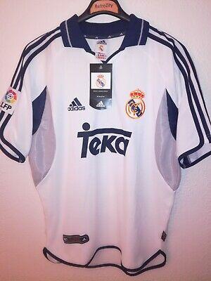 REAL MADRID 2000-2001 BNWT Teka camiseta shirt trikot maillot maglia adidas