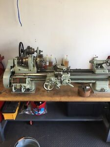 Two South bend lathes model A