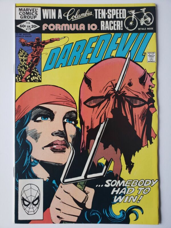 Daredevil #179 Frank Miller HIGH GRADE!!!!!!!!!!!!!!