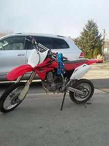 2007 crf 150r  great condition