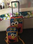 Kids Elmo Suitcase and Matching Backpack Laidley Lockyer Valley Preview