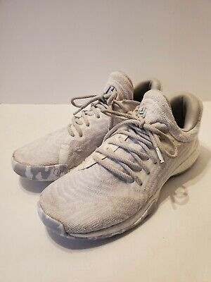 A3 Adidas Harden Vol. 1 LS PK CG5106 Mens Size 9 US White With Gray