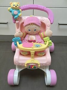 Fisher Price pram walker with doll Ormond Glen Eira Area Preview