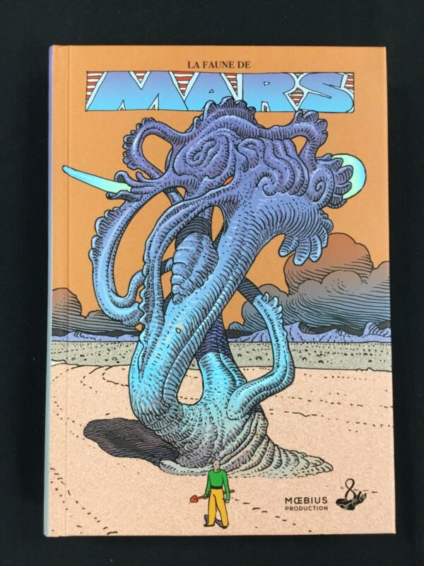 Moebius - Le Faune de Mars - Brand New Hardcover Sketchbook!