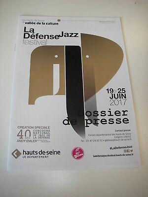 La Jazz Festival - Dossier de presse La Défense JAZZ Festival 2017
