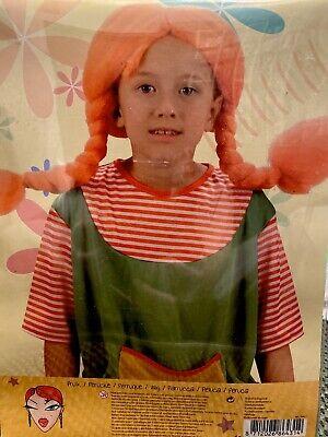 ücke Rotes Haar Mädchen Göre Karneval  (Rote Perücken)