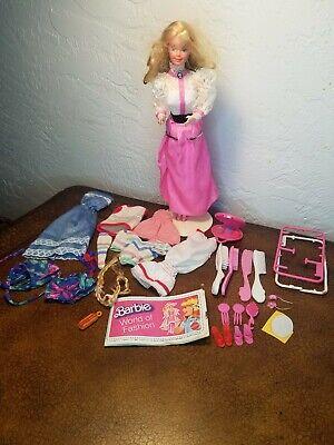 1982 Superstar Era Angel Face Barbie Doll #5640, Rhinestone Ring plus extra.