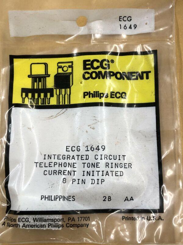 ECG1649 Telephone Tone Ringer IC ~ 8 Pin DIP (NTE1649)