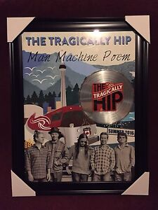 The Tragically Hip Concert poster