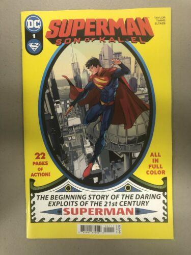 Superman 1 NM son of Kal-el Jonathan Kent Tom Taylor 1st first print