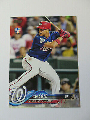 2018 Topps Update Juan Soto # US300 Rookie Card RC