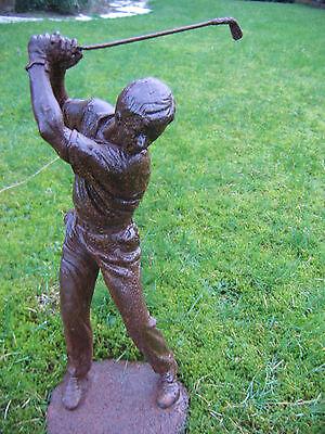 Golf Golfspieler Golfball Figur Golfer