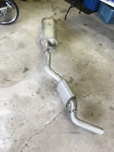New cat back exhaust system for Ram 1500