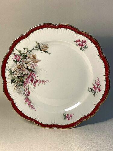 Plate Kuznetsov. Museum preservation. Porcelain. Tsarist Russia. Before 1917.