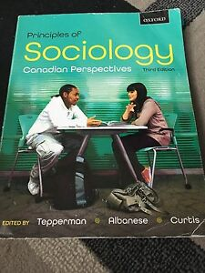 Principles of Sociology Canadian Perspectives (Third edition)