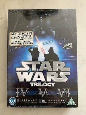 Brand New Star Wars - The Original Trilogy (DVD, 2008, 6-Disc Set, Box Set)