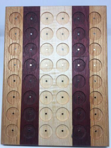 Pathtag Wall Display Multi Colored Natural Wood