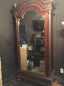 Large antique armoire (Early French)