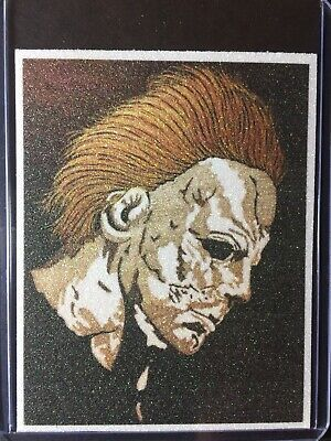 Halloween Michael Myers Sketch Card Print # 5/9 SignedbyArtistT.Keaton](Halloween 9 Michael Myers)