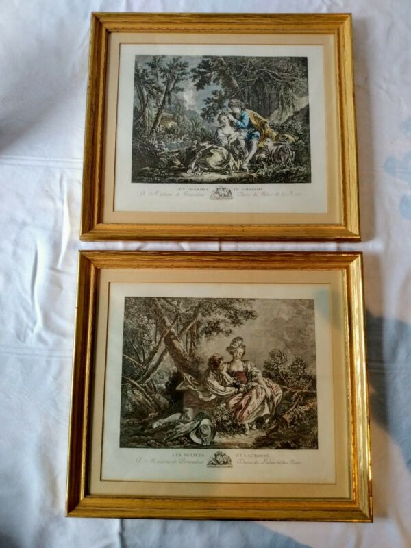 PAIR OF FRENCH ENGRAVINGS