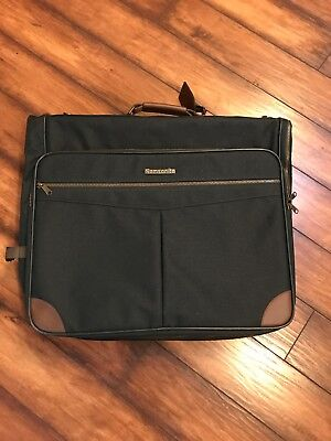Vintage Samsonite Antero II Forest Green Valet Garment Bag NEW