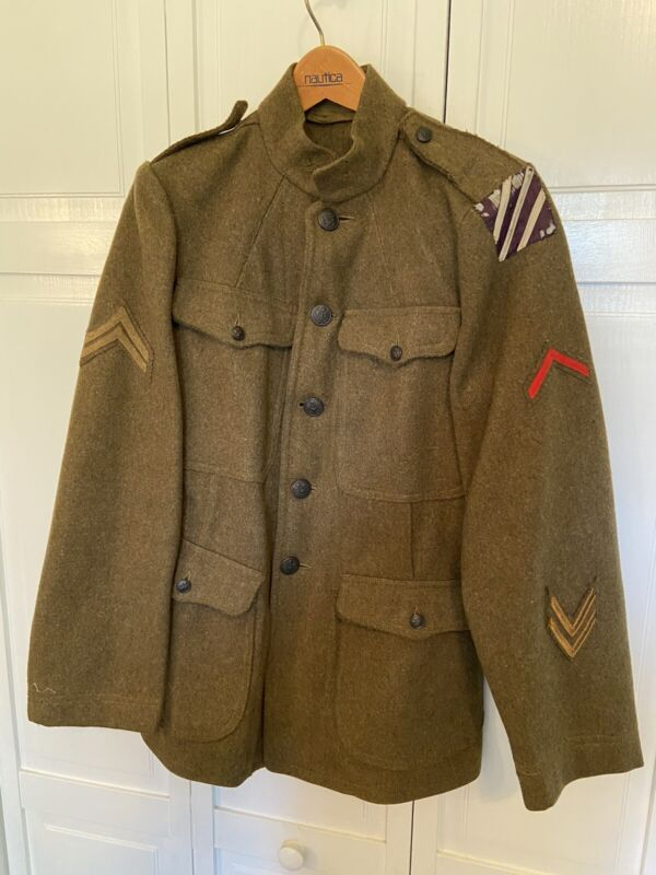 WWI Wool Service Uniform U.S. Army 3rd Third Infantry Division CPL