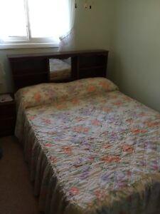 Beautiful Dark Wood Queen Bedroom Set