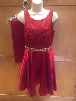 Fiesta Shawl - Fiesta Fashion Womens Red Party Dress And Shawl Size Small