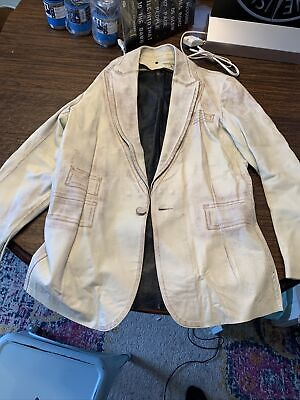 Isaac Sellam Experience Leather Jacket Xl