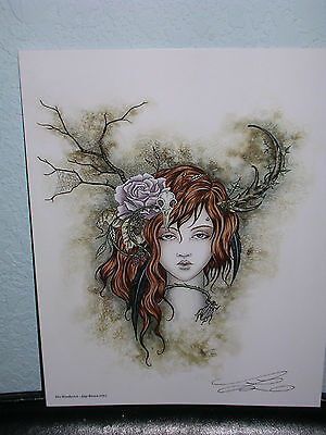 Amy Brown - The Woodwitch - SIGNED - OUT OF PRINT