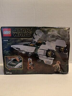 LEGO 75248 Star Wars Resistance A-wing Starfighter Damaged Box