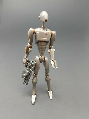Star Wars Clone Wars CW16 Commando Droid Figure LOOSE COMPLETE