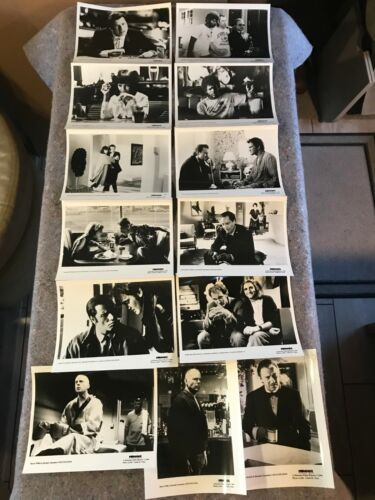 "PULP FICTION 1994 ORIG. MOVIE PRESS KIT WITH ALL (13) 8""x10"" STILLS (VF/NM) RARE"