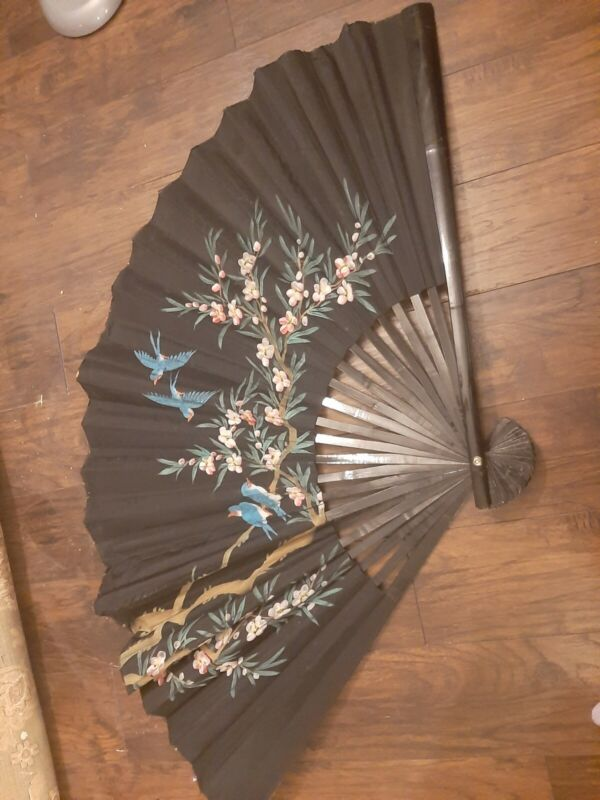 Pictorial Chinese Wall Fan