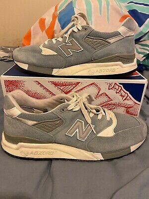 New Balance 998 Blue Size UK 8.5